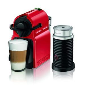 ネスプレッソ コーヒーメーカー イニッシア エアロチーノセット ルビーレッド C40RE-A3B|anr-trading