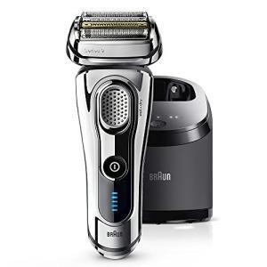 ブラウン メンズ電気シェーバー シリーズ9 9297cc 5カットシステム 洗浄機付 水洗い/お風呂剃り可 光沢仕上げモデル|anr-trading