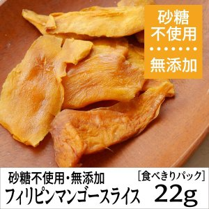 ポイント消化 フィリピンマンゴースライス 無添加・砂糖不使用ドライフルーツ [税込300円食べきりパック]|ansans