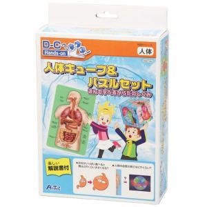 【アーテック】人体キューブ&パズル遊んで学べるからだの ※お取り寄せ商品 anshin-relief
