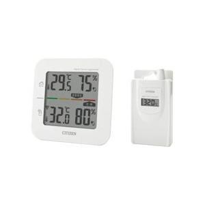 【シチズン】コードレス温湿度計 簡易熱中症指標表示付き THD501 ☆家電 ※お取り寄せ商品 anshin-relief