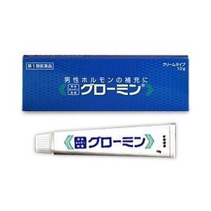 【第1類医薬品】【大東製薬】男性ホルモン軟膏 グローミン 10g (性機能改善)※お取り寄せになる場合もございます anshin-relief