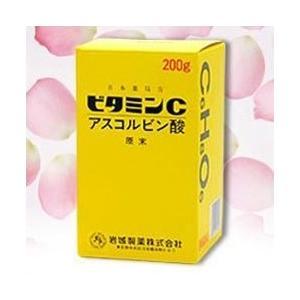 【岩城製薬】アスコルビン酸ビタミンC原末 200g【第3類医薬品】