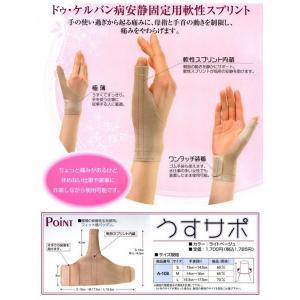 うすサポサポーター腱鞘炎親指の痛みサポーターS...の詳細画像1
