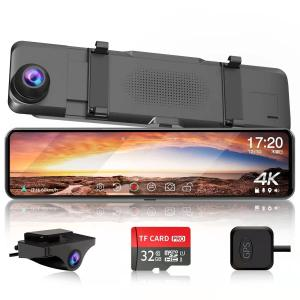 2019最新版 ドライブレコーダー 前後カメラ SONYセンサー/レンズ 1080PフルHD高画質 ...