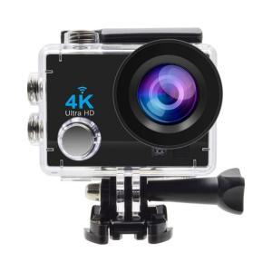 Accflyアクションカメラ 1080pHD 4k画質 170度広角レンズ 防水 リモコン アクセス...