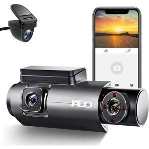 360度ドライブレコーダー前後カメラ 3カメラ wifi搭載 ?内録画 1080PフルHD 車内外後同時記録 夜間テレビ搭載 170度広角 WDR 常時録画 回転レンズ -jado-d350s|anshinsokubai