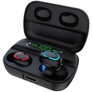 Bluetooth イヤホン ワイヤレス イヤホン 5.0 Hi-Fi 高音質 軽量 TWS 防水 ...