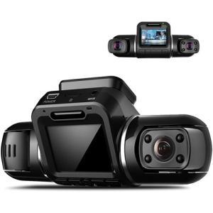 2カメラ ドライブレコーダー  X2 Pro 前後カメラ GPS内蔵 駐車監視 動体検知 Gセンサー...