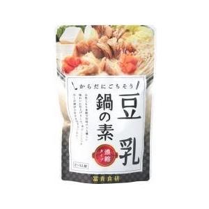 冨貴 豆乳鍋の素 150g【冬期限定】 anshinsyokuhinkan