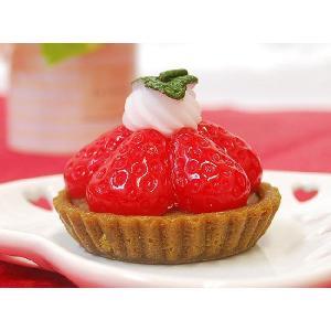 スイーツキャンドル ストロベリータルト イチゴの香り付き|ansindo