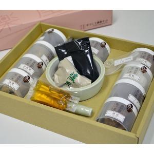 薫物屋香楽 手作り練香キット トラディショナル NKK-T-1 9種の香りと練香作りのためのお道具セット|ansindo