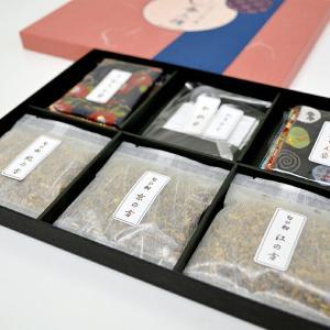 薫物屋香楽 手作り匂い袋キット 追風用意 OY-1 3種の香りと匂い袋作りのためのお道具セット|ansindo