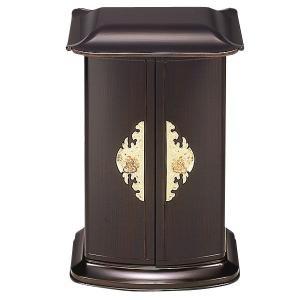 送料無料 厨子型ミニ仏壇 アート仏壇 木目内金 置き型仏壇 厨子型仏壇 コンパクトサイズ|ansindo