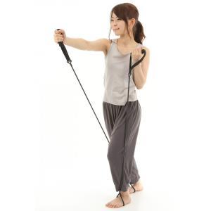 エクササイズトレーニングチューブ 2本セット ゴムの性質を利用して、筋肉の負荷をかけることにより、イ...