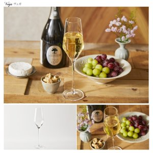 ワイングラスセット フルートシャンパーニュ 6脚セット 210ml CachetteSecreteワイングラス シャンパングラス フルートグラス antbeeshop 13