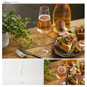 ワイングラスセット フルートシャンパーニュ 6脚セット 210ml CachetteSecreteワイングラス シャンパングラス フルートグラス antbeeshop 14