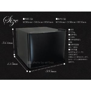 小型冷蔵庫 メーカー5年保証 省エネ17リットル型 Peltismペルチィズム  「Classic black」 ドア左開き 病院・クリニック・ホテル向け冷蔵庫 ミニ 1ドア|antbeeshop|04