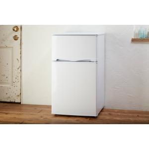 アテナル ATENARU 96L 2ドア冷蔵庫(直冷式)ホワイト 直冷式冷凍冷蔵庫 (小型冷蔵庫・一人暮らし向け) 右開き AT-96W|antbeeshop