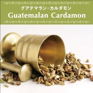 カルダモン グアテマラ産 無農薬 無添加 無漂白 砂糖不使用 オーガニック ヴィーガン ベジタリアン ローフード ポリフェノール 自然食品 天然素材 25g|antbeeshop