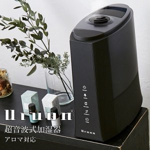 加湿器 ハイブリッド加湿器 AB-UR03 加湿器 ハイブリッド 自動湿度調整 送料無料 大容量 アロマ おしゃれ 省エネ 静音 花粉症 URUON|antbeeshop