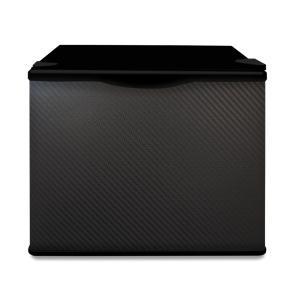 小型冷蔵庫 省エネ17リットル型 Peltism advancedシリーズ Kingdom carbon black (キングダムカーボンブラック) ドア右開き