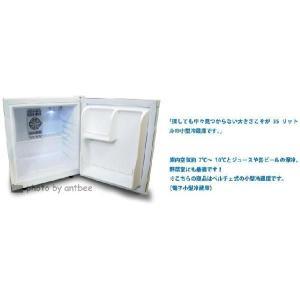小型冷蔵庫 省エネ35リットル型 Peltism(ペルチィズム) Dunewhite 左開き Proシリーズ 病院・クリニック・ホテル向け冷蔵庫 ペルチェ冷蔵庫 |antbeeshop|04