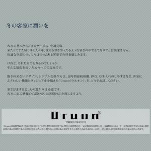 アロマディフューザー UR-AROMA01 卓上 小型 加湿器 Uruon(ウルオン) 超音波加湿器  7色セラピーグラデーションライト|antbeeshop|03