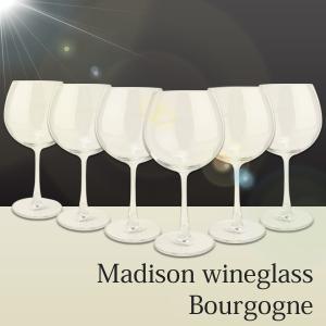 ワイングラス マディソンワイングラス ブルゴーニュ 6脚セット 650ml  Madison |antbeeshop