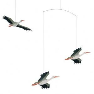 (メール便対応可) フレンステッド モビール Danish Lucky Storks antdesignstore
