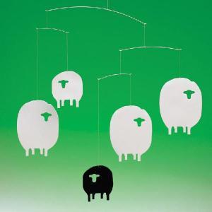 フレンステッド モビール Sheep 羊 ひつじ モビール antdesignstore