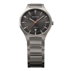 ベーリング 腕時計 11739-772 ブラック×シルバー メンズ 時計 バレンタイン