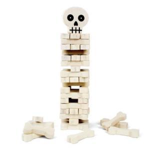 メキシカンスカルのホネを崩さない様に抜いて積み上げるジェンガ的パーティゲーム。遊んで良し、オブジェに...