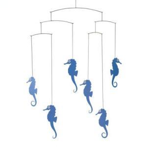 (メール便対応可) フレンステッド モビール Sea Horse Mobile, Blue antdesignstore