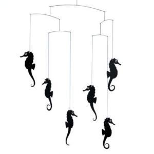 (メール便対応可) フレンステッド モビール Sea Horse Mobile, Black antdesignstore