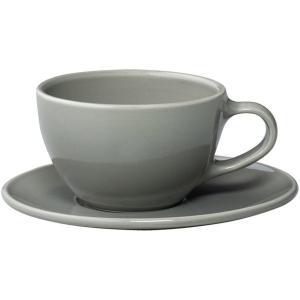 KINTO キントー コーヒー TOPO カップ&ソーサー 300ml グレー|antdesignstore