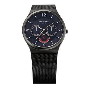 ベーリング 腕時計 33440-227 ブラック メンズ BERING Mens Sapphire Glass Ceramic 時計 バレンタイン