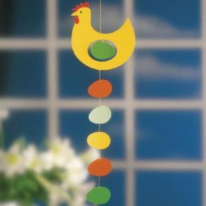 フレンステッド モビール Prize Hen, Yellow ニワトリ にわとり 卵 antdesignstore
