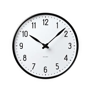アルネヤコブセン 時計 ステーションクロック 160mm 掛け時計 STATION おしゃれ かわいい ARNE JACOBSEN 壁掛け時計 ウォー|antdesignstore