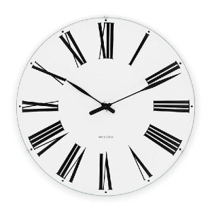 アルネヤコブセン 時計 ローマンクロック 290mm 掛け時計 Roman アルネヤコブセン|antdesignstore