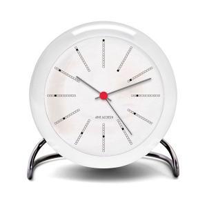 アルネヤコブセン 時計 テーブルクロック Bankers 置き時計 TableClock 置き時計 アラームクロック 目覚まし時計 アルネヤコブセン|antdesignstore