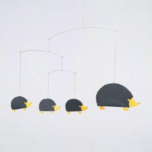 (メール便対応可) フレンステッド モビール Hedgehog Family ハリネズミ モビール antdesignstore