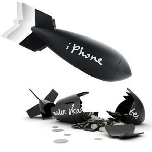 ミサイルマネーバンク 貯金箱 貯金 500円玉 オブジェ 置物|antdesignstore