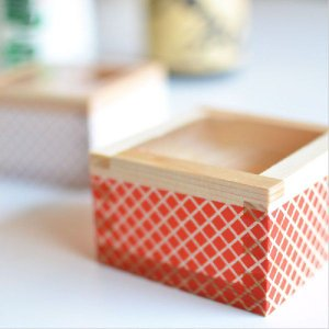 カラー枡 紅白セット お正月 グラス 節分|antdesignstore|05