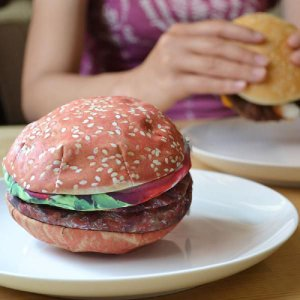 ハンバーガーの小物入れ ヤミーポケットシリーズ ハンバーガーポーチ|antdesignstore