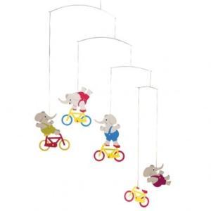 (メール便対応可) フレンステッド モビール Cycle Elephants 船 antdesignstore