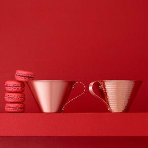 【送料無料】 RED & WHITE アイスコーヒーカップ レッド&ホワイト 紅白 グラス コップ|antdesignstore