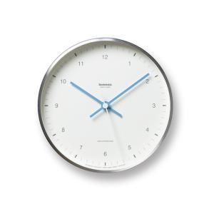 レムノス MIZUIRO 電波時計 ホワイト LC07-06 WH 掛け時計|antdesignstore