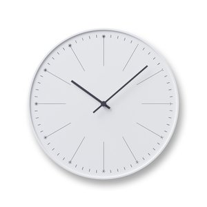レムノス dandelion ホワイト NL14-11 WH 掛け時計|antdesignstore