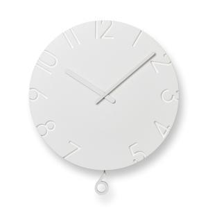 レムノス CARVED SWING /(NTL15-11) 掛け時計|antdesignstore